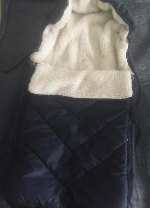 Зимний комбинезон в коляску или на санки