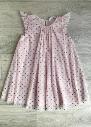 Нарядное платье 5-6 лет 110-116 см