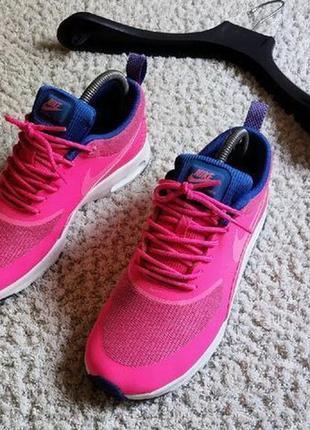 Nike air max thea prm | pink оригинал бомбические яркие летние кроссовочки