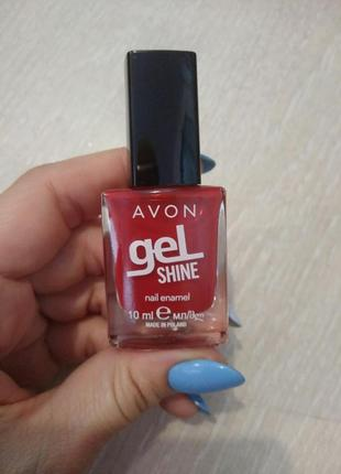 Лак для ногтей с гелевым эффектом gel chine