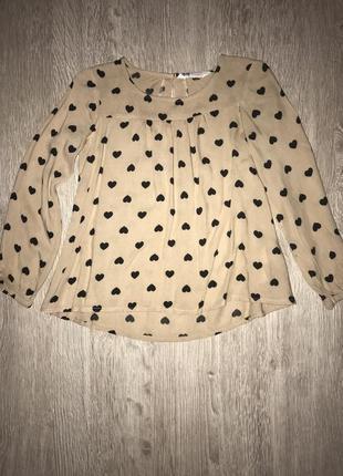 Туничка-блуза h&am