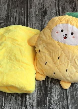Игрушка 3 в 1. игрушка-подушка-плед