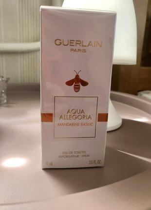 Guerlain mandarine basilic оригинал