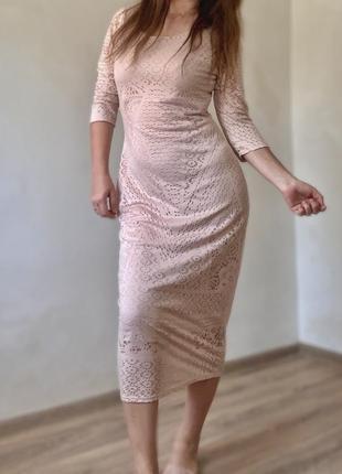 Платье миди обмен