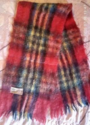 Новый мужской мохеровый шарф индия