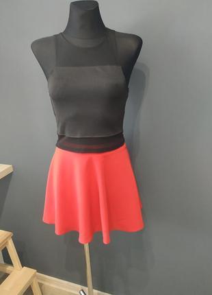 Топ+юбка образ