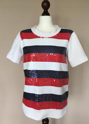 Футболка блуза туника бренд dolce gabbana bluza оригинал! голограмма