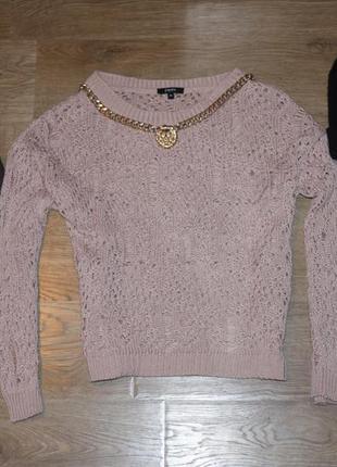 Актуальный свитер широкой вязки от top shop