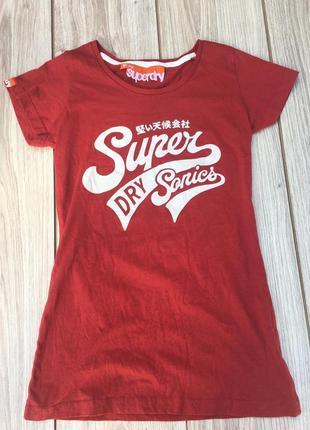 Стильная актуальная футболка тренд superdry поло майка