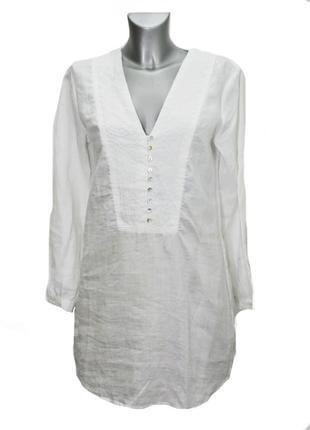 Женская  белая туника zara. код 3177.