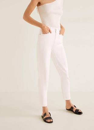 Женские джинсы фирмы mango, mom fit
