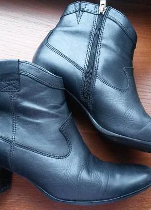 Ботинки кожаные caprice 38-39р