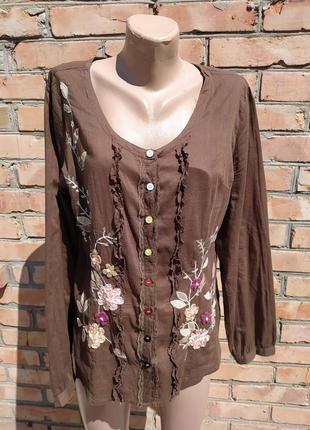Женская блузка, рубашка, вышиванка2 фото