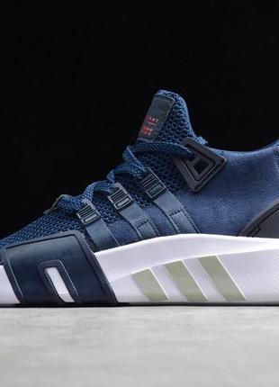 Кроссовки мужские adidas eqt equipment, синие (адидас ект, эквипмент, адидасы, nike, puma)