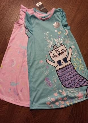 Пижамки ночнушки платьечки