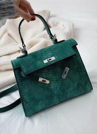 Новая сумка под кожу питона