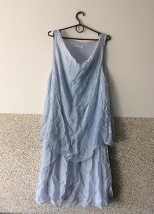 Шелковое платье с италии