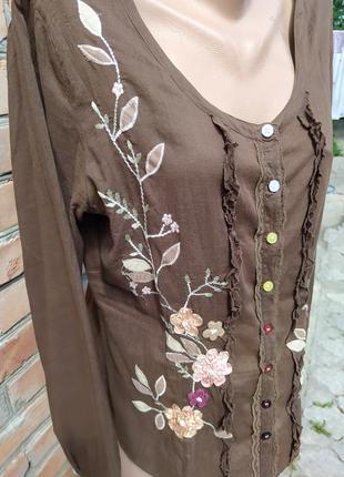 Женская блузка, рубашка, вышиванка4 фото