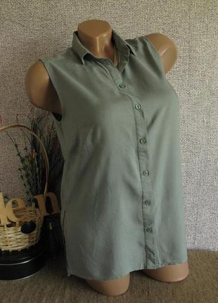 Летняя блуза h&m вискоза eur 32-34