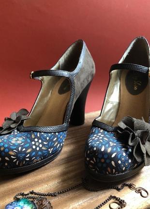 Туфли в винтажном стиле ruby shoo 38 р
