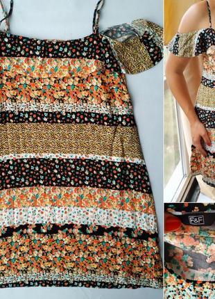 Платье f&f 100% вискоза