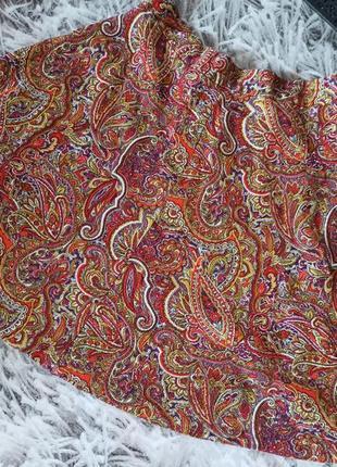 Юбка трапеция zara, юбка трапеция мини, красивая мини юбка