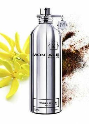 Montale white musk парфюмированная вода распив оригинал франция