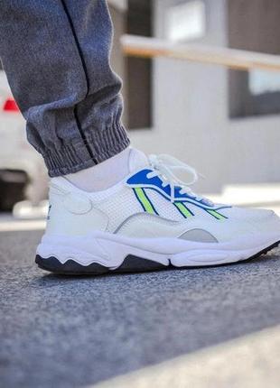 Мужские кроссовки adidas ozweego white
