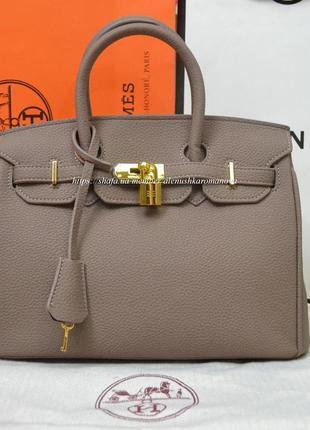 Женская сумка в ст. hermes birkin гермес биркин средняя