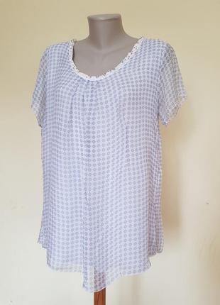 Брендовая итальянская блузочка шёлк