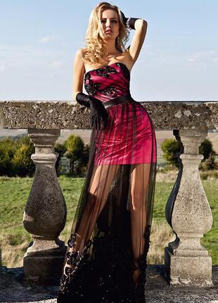 Вечернее  платье от оксаны мухи