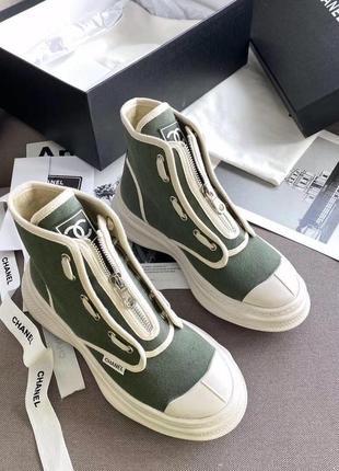 Chanel кеди кроси кросівки
