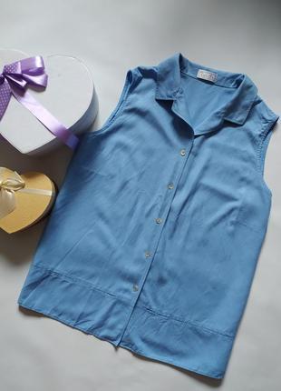 Натуральная блуза вискоза-лëн