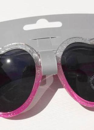 George. детские очки сердечком 100% uv protection