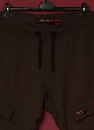 Superdry рр m спортивные карго брюки из хлопка4 фото
