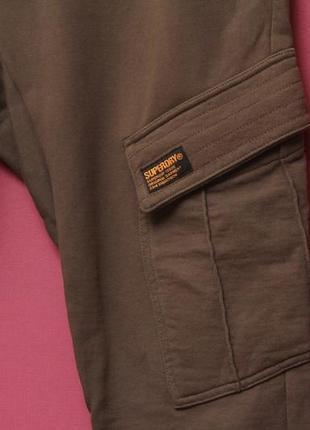 Superdry рр m спортивные карго брюки из хлопка6 фото