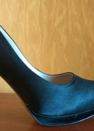 Туфли атласные vere pelle