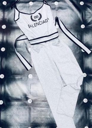 Стильный модный комбинезон balenciaga