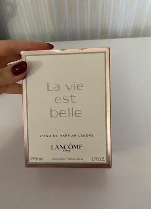 Духи парфюмированная вода la vie est belle оригинал