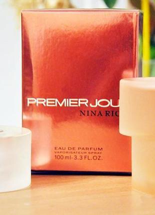 Nina ricci premier jour_original  eau de parfum 5 мл затест_парфюм.вода