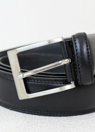 Bosswik классический черный кожаный ремень
