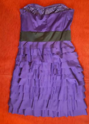 Платьев корсетное, размер xs2 фото