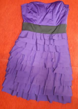 Платьев корсетное, размер xs