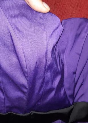 Платьев корсетное, размер xs5 фото