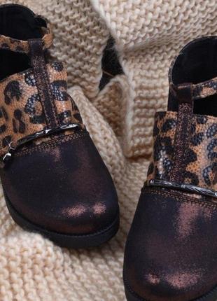 Стильные детские подростковые туфли