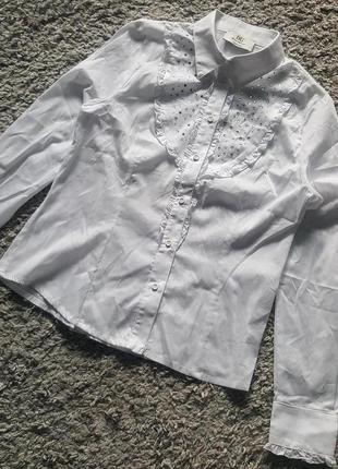 Новая,фирменная,стильная,итальянская,котоновая блуза-рубашка donna giovane