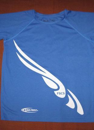 Hanes (146-152 см, 11-12 лет) спортивная футболка для мальчика