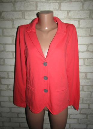 Красивый пиджак жакет р-р 12-38 сост нового cecil