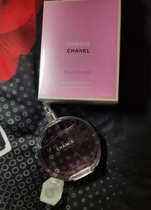 Chanel chance tendre 100мл шанель тендер шанс духи парфюм  туалетная вода духи парфюм