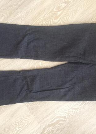 Теплые стильные брюки дудочки